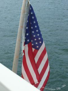 Flaglobsterboat